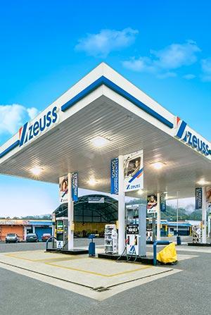 Estación gasolina zeuss