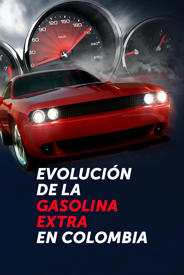 Evolución de la gasolina extra